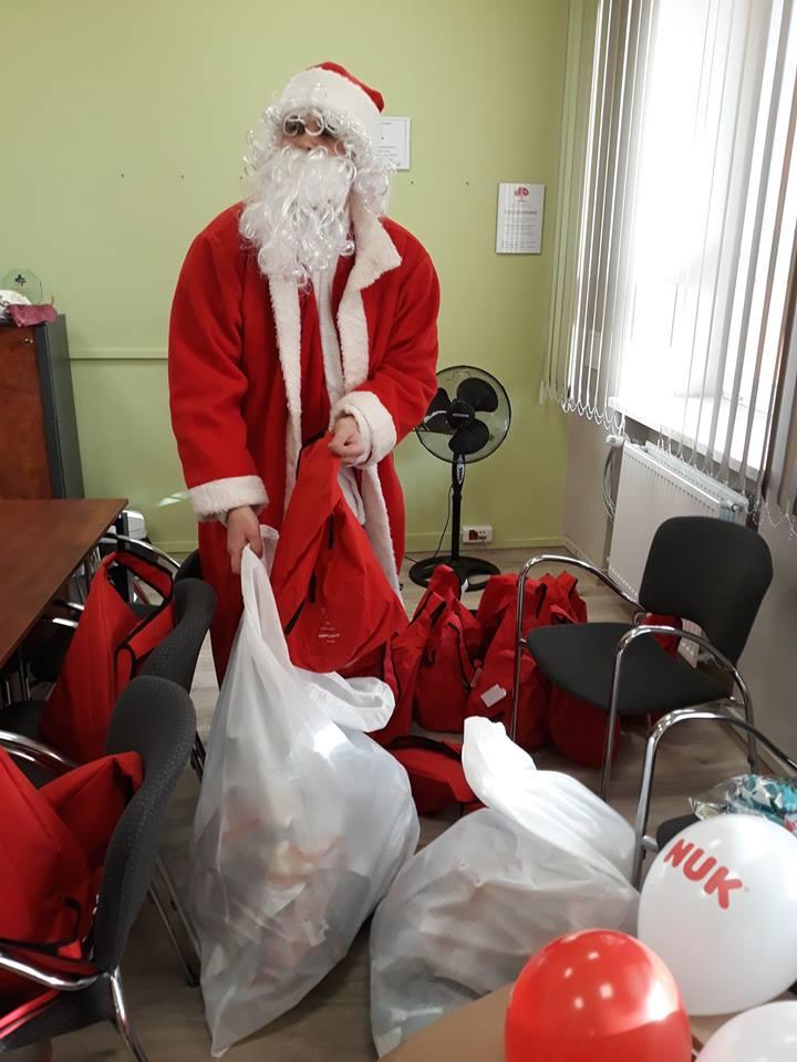 Był Mikołaj, prezenty, a przede wszystkim uśmiech na twarzach małych Pacjentów❗