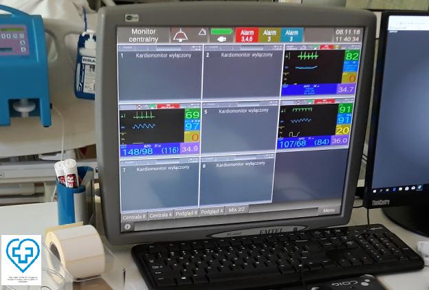 Nowoczesna aparatura na wyposażeniu zawierciańskiego OIOM-u