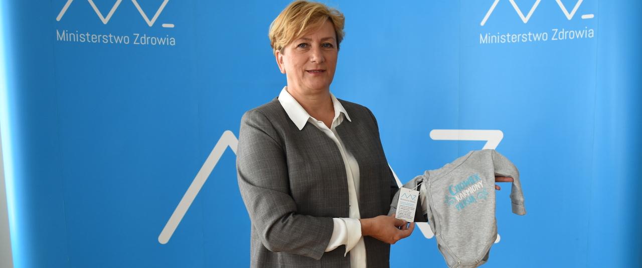 Karmienie piersią: akcja promocyjna Ministerstwa Zdrowia w zawierciańskim Szpitalu
