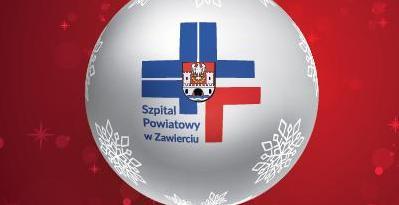 Dyrekcja wraz z Załogą Szpitala Powiatowego w Zawierciu życzą WESOŁYCH ŚWIĄT!