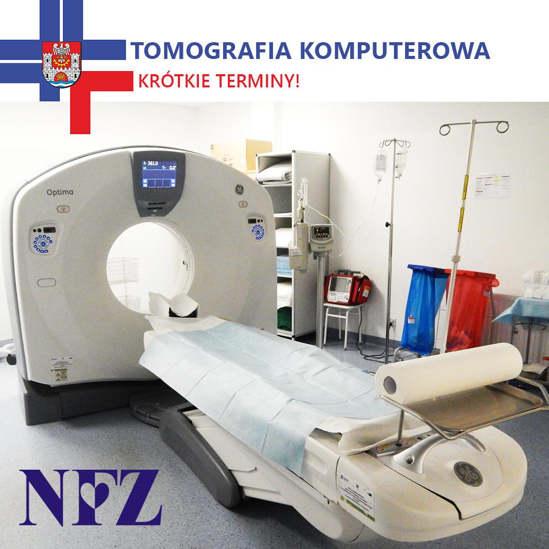 BEZPŁATNE badania TK w Szpitalu w Zawierciu!
